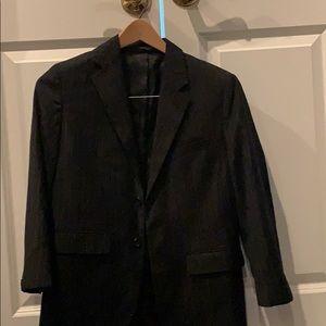 boys Black blazer sport jacket childrens size 14